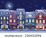 old historical houses  shops... | Shutterstock .eps vector #230452096