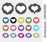heart icon   Shutterstock .eps vector #230454985