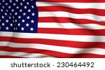 flag of united states of america | Shutterstock . vector #230464492