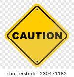 caution  sign vector   Shutterstock .eps vector #230471182
