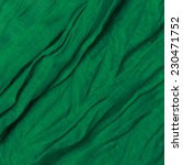 Green Fabric Background With...