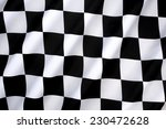 chequered flag   traditionally... | Shutterstock . vector #230472628