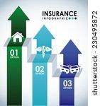 insurance graphic design  ... | Shutterstock .eps vector #230495872