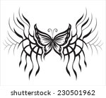 decorative composition of... | Shutterstock .eps vector #230501962