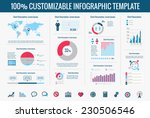 technology infographic elements.... | Shutterstock .eps vector #230506546