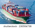 container ship | Shutterstock . vector #230506738