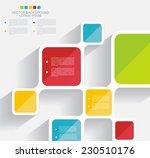 vector brochure template design ... | Shutterstock .eps vector #230510176