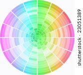 rounded color palette