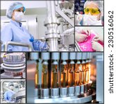 pharmaceutical manufacturing... | Shutterstock . vector #230516062