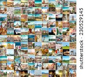 Collage Of Travel Photos From...