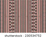 tribal ethnic pattern... | Shutterstock .eps vector #230534752