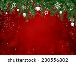 christmas background  | Shutterstock . vector #230556802