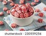 Sweet Red And White Peppermint...