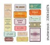 illustration of various... | Shutterstock . vector #230616076