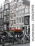Amsterdam Street Scene With Ol...