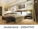 Stock photo modern bedroom interior 230647945