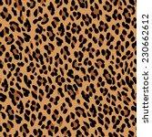 seamless leopard pattern.... | Shutterstock .eps vector #230662612
