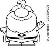 a cartoon illustration of a... | Shutterstock .eps vector #230669206