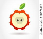 vector logo design template.... | Shutterstock .eps vector #230674492