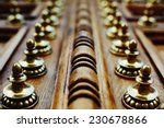 Ancient Wooden Door  Reinforce...