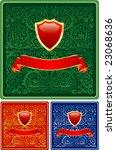 vector labels for various... | Shutterstock .eps vector #23068636