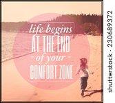inspirational typographic quote ... | Shutterstock . vector #230689372