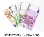 Euro Money Banknotes