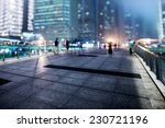 the light trails on the modern... | Shutterstock . vector #230721196