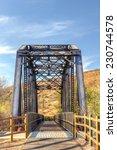 Railroad Bridge Over The Iron...