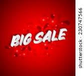 big sale background | Shutterstock .eps vector #230747566