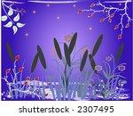 floral background   vector...   Shutterstock .eps vector #2307495