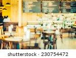 blur restaurant   vintage... | Shutterstock . vector #230754472