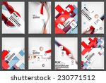 set of flyer templates ... | Shutterstock . vector #230771512