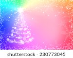 christmas red background with...   Shutterstock . vector #230773045