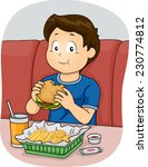 illustration featuring a boy... | Shutterstock .eps vector #230774812