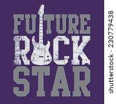 music rock typography  t shirt... | Shutterstock .eps vector #230779438