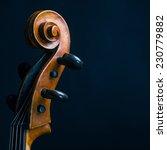 scroll cello | Shutterstock . vector #230779882