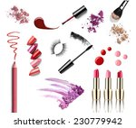 collection of various make up... | Shutterstock . vector #230779942