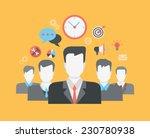 flat style modern web... | Shutterstock .eps vector #230780938
