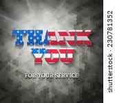 military appreciation sign ... | Shutterstock .eps vector #230781352