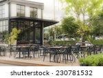 street restaurant at the summer ... | Shutterstock . vector #230781532