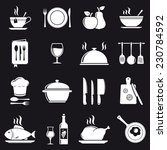 cooking icons | Shutterstock .eps vector #230784592