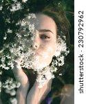 double exposure portrait of... | Shutterstock . vector #230792962