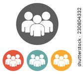 group people icon | Shutterstock .eps vector #230804332