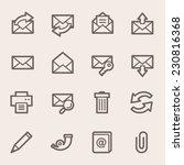 web icons set   Shutterstock .eps vector #230816368