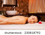 total relaxation. side view of... | Shutterstock . vector #230818792