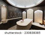 interior of turkish sauna ...   Shutterstock . vector #230838385