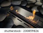 Modern Bio Fireplace Made Of...