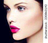 high fashion look.glamor... | Shutterstock . vector #230863192