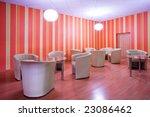armchairs in cafe  empty... | Shutterstock . vector #23086462
